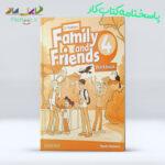 پاسخ کتاب American Family and Friends 4 Workbook ویرایش دوم
